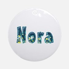 Nora Under Sea Round Ornament