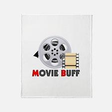 I'm A Movie Buff Throw Blanket