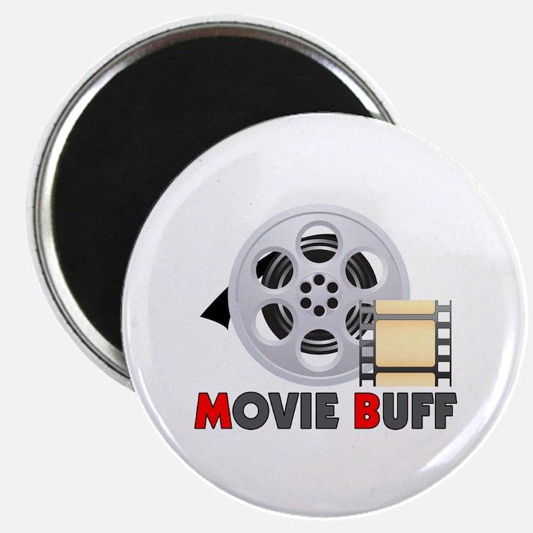 "I'm A Movie Buff 2.25"" Magnet (100 pack)"