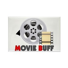 I'm A Movie Buff Rectangle Magnet (100 pack)