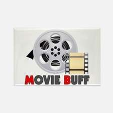 I'm A Movie Buff Rectangle Magnet
