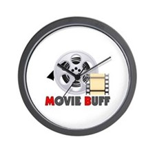 I'm A Movie Buff Wall Clock