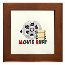 I'm A Movie Buff Framed Tile