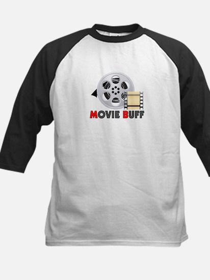 I'm A Movie Buff Kids Baseball Jersey