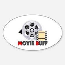 I'm A Movie Buff Decal