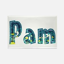 Pam Under Sea Rectangle Magnet