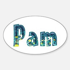 Pam Under Sea Oval Decal