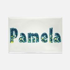 Pamela Under Sea Rectangle Magnet