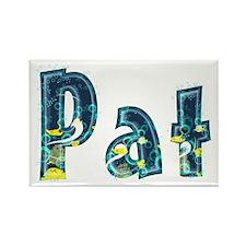 Pat Under Sea Rectangle Magnet