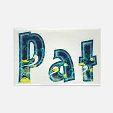 Pat Under Sea Rectangle Magnet