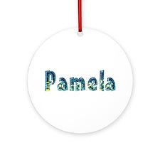 Pamela Under Sea Round Ornament