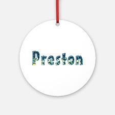 Preston Under Sea Round Ornament