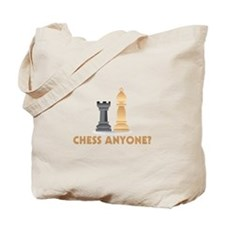 Chess Anyone Chess Pieces Tote Bag