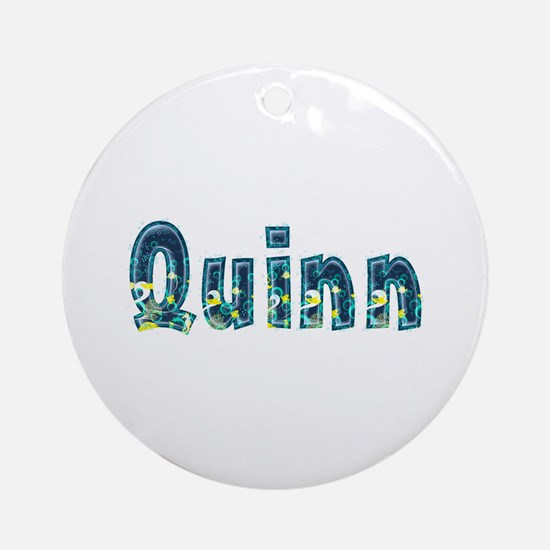 Quinn Under Sea Round Ornament