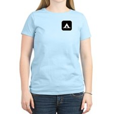 Campground Women's Pink T-Shirt