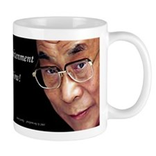 Dalai Lama - Enlightenment Now! - Mug