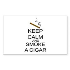 Keep Calm And Smoke A Cigar Decal