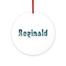 Reginald Under Sea Round Ornament