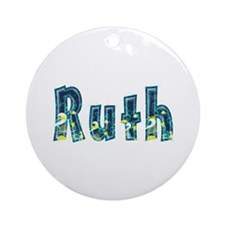 Ruth Under Sea Round Ornament