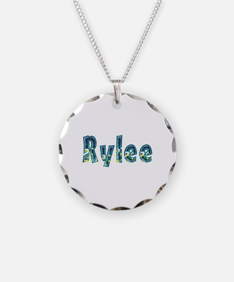 Rylee Under Sea Necklace Circle Charm