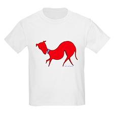 Red Prissy Kids T-Shirt