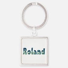 Roland Under Sea Square Keychain