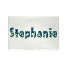 Stephanie Under Sea Rectangle Magnet