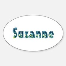 Suzanne Under Sea Oval Decal