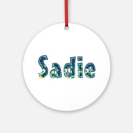 Sadie Under Sea Round Ornament