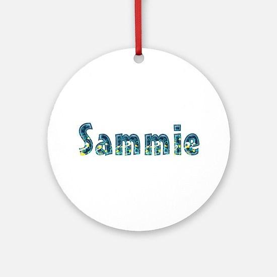Sammie Under Sea Round Ornament