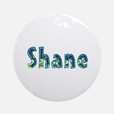 Shane Under Sea Round Ornament