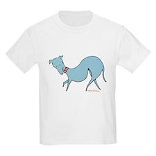 Blue Prissy Kids T-Shirt