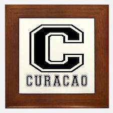 Curacao Designs Framed Tile