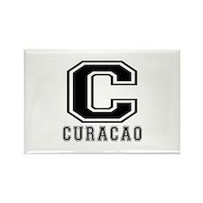 Curacao Designs Rectangle Magnet