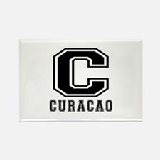 Curacao Designs Rectangle Magnet