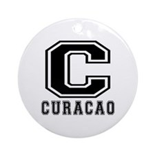 Curacao Designs Ornament (Round)