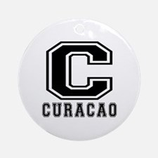 Curacao Designs Ornament (Round)