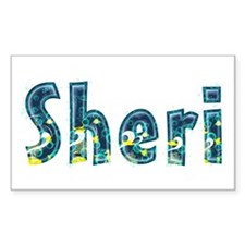 Sheri Under Sea Rectangle Decal