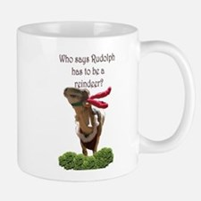 Rudolph the red-nosed GOAT! Mug