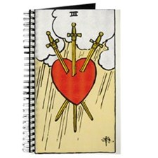 TAROT CARD Three of Swords Journal