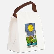 THE MOON TAROT CARD Canvas Lunch Bag