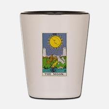 THE MOON TAROT CARD Shot Glass