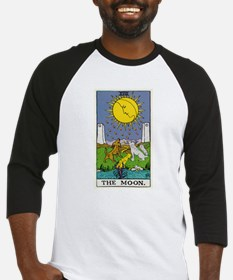 THE MOON TAROT CARD Baseball Jersey