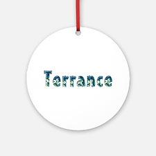 Terrance Under Sea Round Ornament