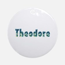 Theodore Under Sea Round Ornament