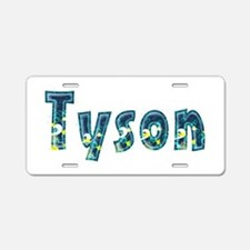 Tyson Under Sea Aluminum License Plate