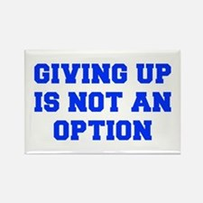 GIVING-UP-FRESH-BLUE Rectangle Magnet