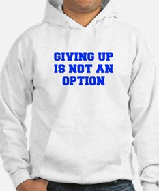GIVING-UP-FRESH-BLUE Hoodie