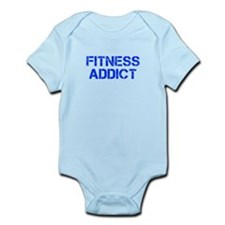 fitness-addict-CAP-BLUE Body Suit