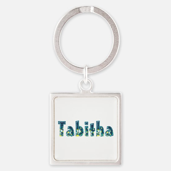 Tabitha Under Sea Square Keychain